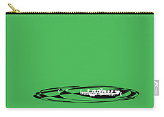Piccolo In Green Carry-all Pouch by David Bridburg
