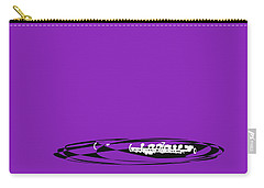Piccolo In Purple Carry-all Pouch by David Bridburg