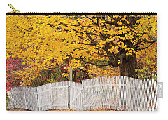 Picket Fence Autumn Carry-all Pouch