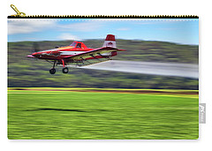 Picking It Up And Putting It Down - Crop Duster - Arkansas Razorbacks Carry-all Pouch