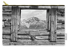 Carry-all Pouch featuring the photograph Picture Window #2 by Eric Glaser