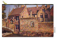 Carry-all Pouch featuring the photograph Picturesque Bruges  by Carol Japp
