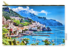 Picturesque Italy Series - Amalfi Carry-all Pouch