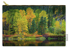 Carry-all Pouch featuring the photograph Picturesque Tumwater Canyon by Dan Mihai
