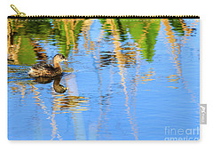 Pied Billed Grebe 2 Carry-all Pouch