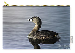Pied-billed Grebe Carry-all Pouch by Robert Frederick