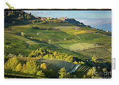 Carry-all Pouch featuring the photograph Piemonte Countryside by Brian Jannsen