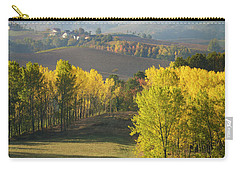 Carry-all Pouch featuring the photograph Piemonte Morning by Brian Jannsen