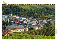 Carry-all Pouch featuring the photograph Piemonte Panoramic by Brian Jannsen