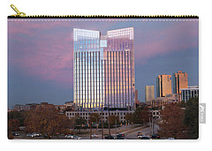 Pier 1 Building And The Trinity River, Downtown Ft. Worth Texas U S A Carry-all Pouch