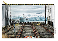 Pier 43 Ferry Arch San Francisco California Carry-all Pouch by Mary Lee Dereske