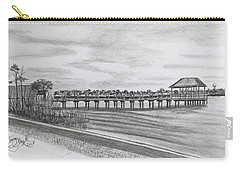 Pier At Goose Creek  Carry-all Pouch