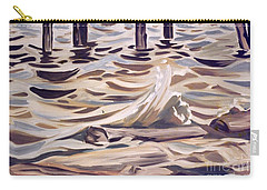 Pier At Granthams Landing Carry-all Pouch