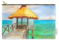 Pier Gazebo At Mayan Palace Carry-all Pouch
