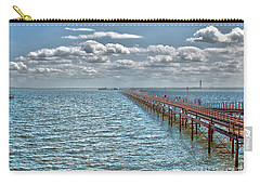 Pier Into The English Channel Carry-all Pouch