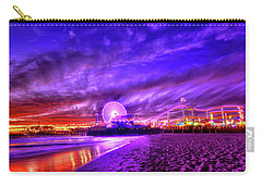 Pier Of Lights Carry-all Pouch by Midori Chan