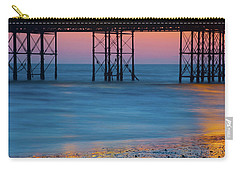 Pier Supports At Sunset I Carry-all Pouch