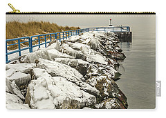 Pierhead Light On Lake Michigan Carry-all Pouch