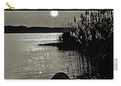 Carry-all Pouch featuring the photograph Piermont Hudson River View by Roger Bester