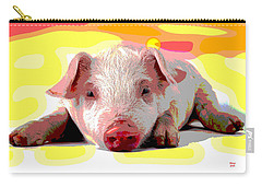 Pig In A Poke Carry-all Pouch by Charles Shoup