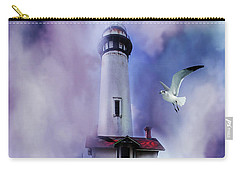 Pigeon Lighthouse With Fog Carry-all Pouch