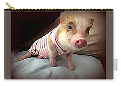 Piglet In Pjs Carry-all Pouch