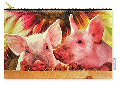 Piglet Playmates Carry-all Pouch