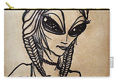 Pigtalien Girl Carry-all Pouch