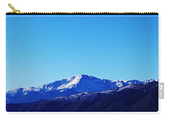 Pikes Peak Carry-all Pouch by Joseph Frank Baraba