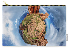 Pikes Peak Tiny Planet #1 Carry-all Pouch