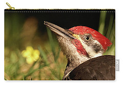 Pileated Woodpecker Carry-all Pouch by Loni Collins