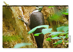 Carry-all Pouch featuring the photograph Pileated Woodpecker by Sean Griffin