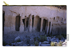 Pillars And Caves, Crowley Lake Carry-all Pouch by Michael Courtney