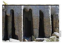 Pillars At Crowley Lake Carry-all Pouch by Michael Courtney