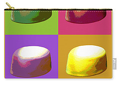 Carry-all Pouch featuring the digital art Pillbox Hat by Jean luc Comperat