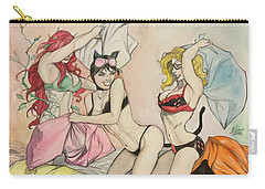 Pillow Fight Carry-all Pouch by Jimmy Adams