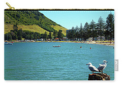 Pilot Bay Beach 5 - Mt Maunganui Tauranga New Zealand Carry-all Pouch