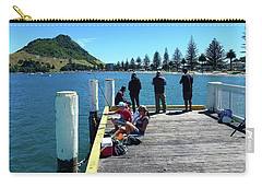 Pilot Bay Beach 7 - Mt Maunganui Tauranga New Zealand Carry-all Pouch