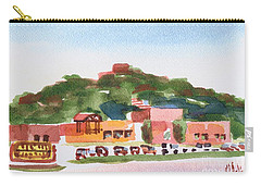 Carry-all Pouch featuring the painting Pilot Knob Mountain W402 by Kip DeVore