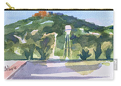 Carry-all Pouch featuring the painting Pilot Knob Mountain W404 by Kip DeVore