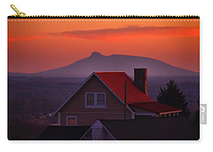 Pilot Sunset Overlook Carry-all Pouch by Kathryn Meyer