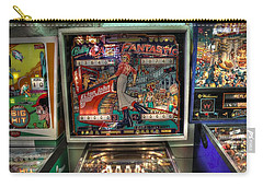 Pinball Elton John Bally Carry-all Pouch by Jane Linders