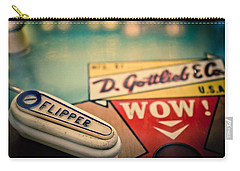 Pinball - Wow Carry-all Pouch by Colleen Kammerer
