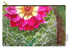 Pincushion Cactus Carry-all Pouch