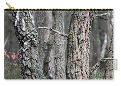 Pine And Birch Carry-all Pouch by Dariusz Gudowicz