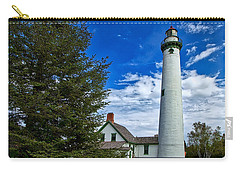 Pine At New Presque Isle Light Carry-all Pouch