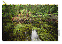 A Creek In The Pine Barrens Carry-all Pouch