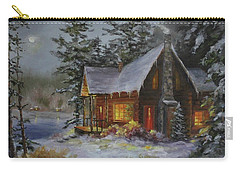 Pine Cove Cabin Carry-all Pouch