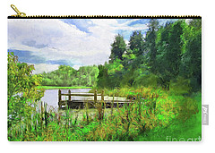 Pine Lake Pier Carry-all Pouch