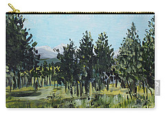 Pine Landscape No. 4 Carry-all Pouch